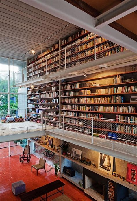 10 casas ideais para amantes de livros casa vogue