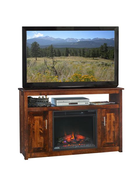 finsbury park 51 quot fireplace tv stand from dutchcrafters amish