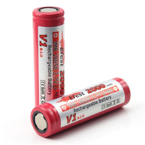 Efest Imr 18650 Li Mn Battery 2000mah 3 7v With Button Top 186502v2 efest imr 18650 li mn battery 2000mah 3 7v with flat top 18650 2v1 jakartanotebook