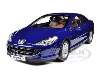 Diecast Welly Nex Coupe 407 Peugeot 1 32 2005 peugeot 407 coupe blue 1 18 diecast model car by