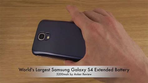 Battery Galaxy S4 5200mah Vizz Lasting Baterai For I9500 world s largest samsung galaxy s4 extended battery