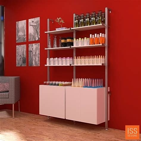 hair salon display cabinets 1000 images about salon retail center on