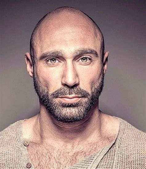 celebrities having moustaches with bald head 42 dapper beard styles for bald men bald man beard