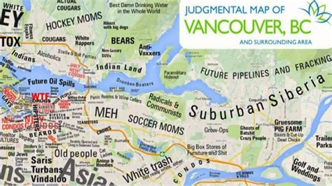 map of vancouver cults cougars gangland judgmental map of