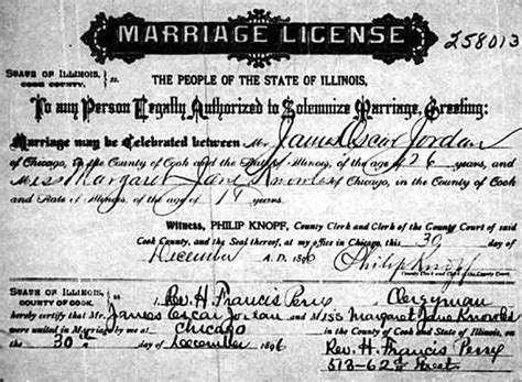 Marriage laws in illinois