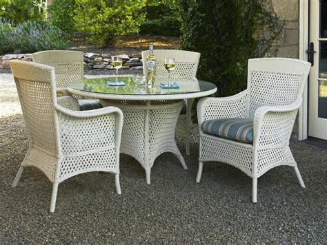 White Wicker Dining Chairs Rattan And Wicker Furniture White Wicker Dining Table And Chairs
