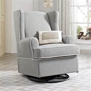 Swivel Wingback Chair Design Ideas Dorel Living Eddie Bauer Swivel Glider Gray