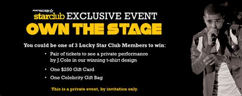 Footaction Release Sweepstakes - own the stage prize sweepstakes footaction star clubfootaction star club