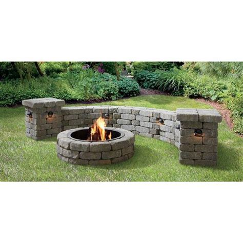 patio block pit the world s catalog of ideas