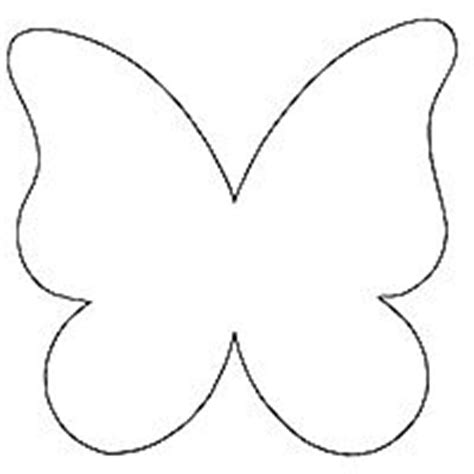 free butterfly templates butterfly pattern use the printable outline for crafts