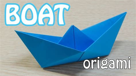 Origami Fishing Boat - how to make a paper boat origami tutorial how do i do