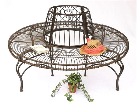 metal circular tree bench bench from metal jc112404 tree garden seat d 150cm h