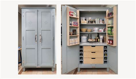 Standing Pantry by Classic Pantries Free Standing Kitchen Storage Cabinets