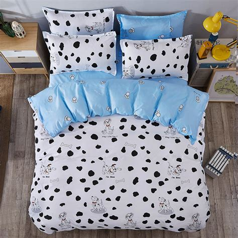 dog bedding set dog print bedding sets cotton bed sheets bedspread kids