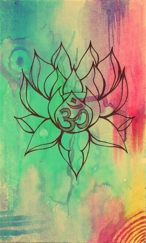 lotus flower with om tattoo designs 213 best images about my lotus project on