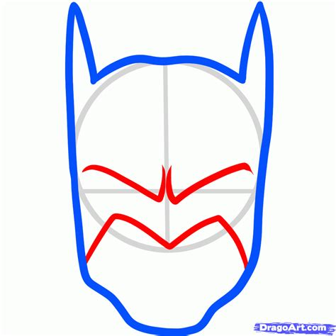Batman How To Draw Step By Step