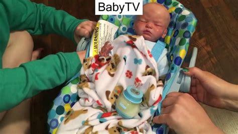 reborn doll car seat reborn baby tries our new joovy doll car seat