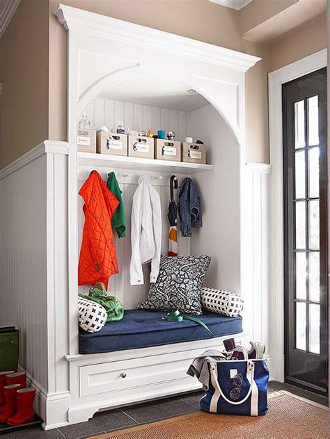 Closet Laundry Mat by 7 Stylish Organized Mudrooms To Pin Now D 233 Coration De