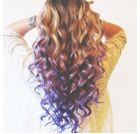 dyed curly hairstyles luv it curly dip dyed hair