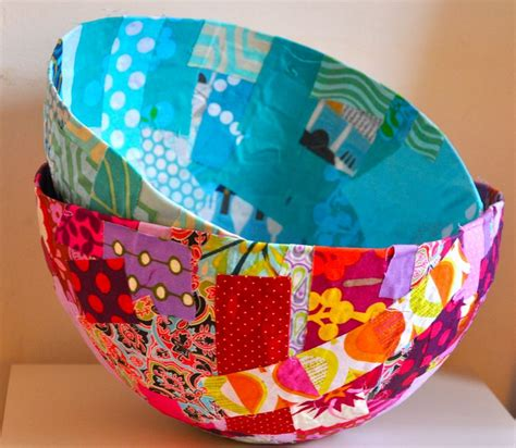 fabric crafts fabric bowls are a and easy craft for photos and