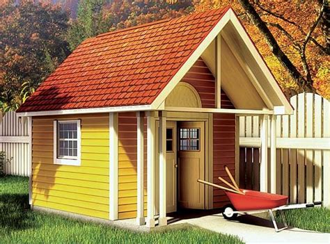 Fancy Garden Sheds by Fancy Storage Shed Playhouse Tiny Houses And Small Dwelings Pinte