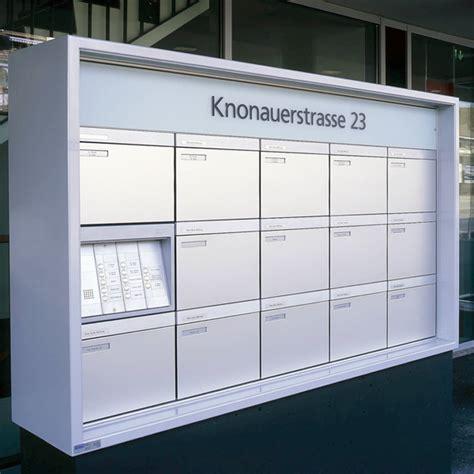 Schweiz Briefkasten Briefkastenanlagen Schweizer Metallbau