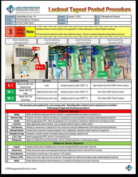 electrical safety policy template lock out tag out procedures template beepmunk