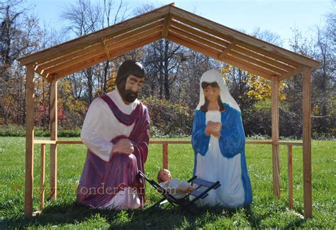 outdoor nativity scenes search results for outdoor christmas manger scene