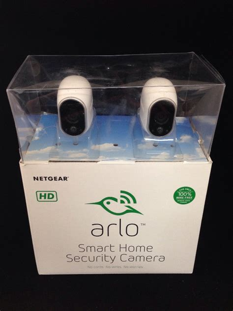 arlo netgear smart home security system 2 pack