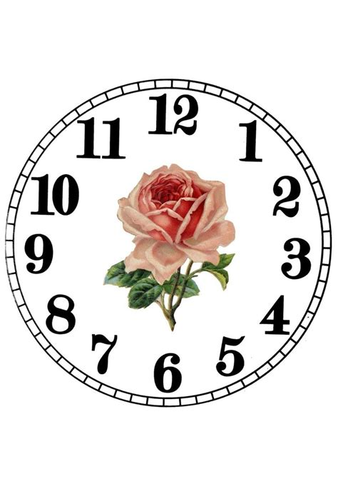 A Paper Clock - 200 best reloj images on stenciling