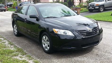 Toyota Camry 2009 Mpg Buy Used Toyota Camry Le 2009 Black Gray Low Mileage In