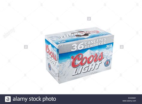 coors light 36 pack a pack of 36 355ml cans of coors light is pictured