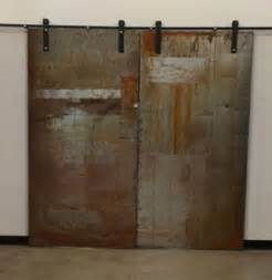 Sliding Front Door Metal Sliding Doors Industrial Interior Doors By Artfully Rogue