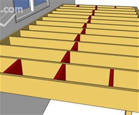 Bridging Between Floor Joists by Deck Blocking And Bridging Decks