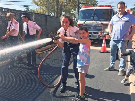 great neck open house alert fire company holds open house great neck record