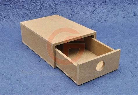 costruire un cassetto in legno cassetto scatola mdf decoupage oggetti decorare p ebay