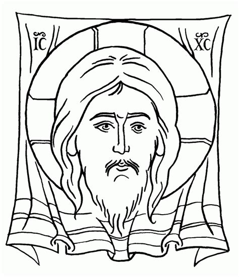 orthodox christian coloring pages free orthodox icon coloring pages
