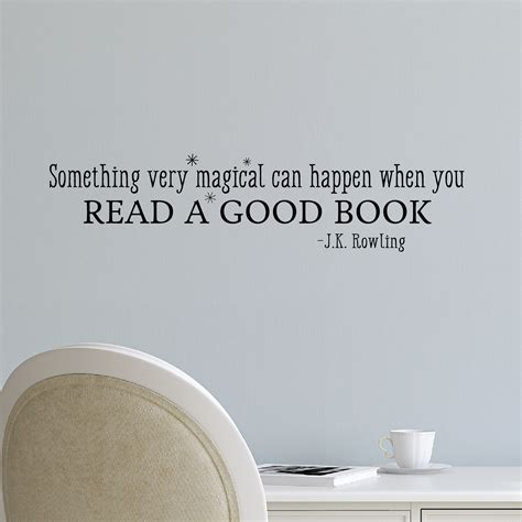Wall Stickers For Home Decoration by Read A Good Book Wall Quotes Decal Wallquotes Com