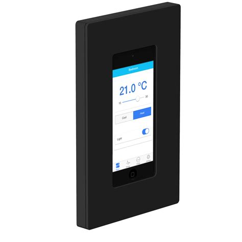 wall mounted touch l bacnet touch panel bacmove