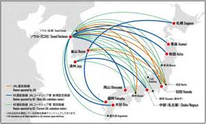 Jal Route Map by Japan Airlines And Korean Air To Expand Their Codeshare