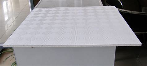 Ceiling Board Material Pvc Faced Gypsum Ceiling Tiles From Shandong Baier