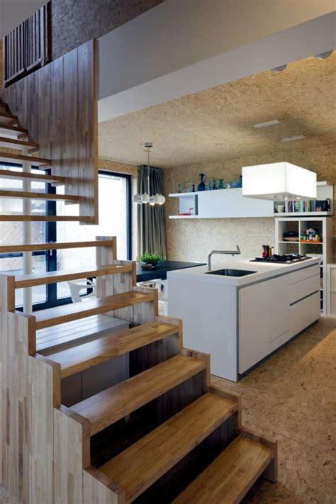 making  kitchen walls  floor  chipboard