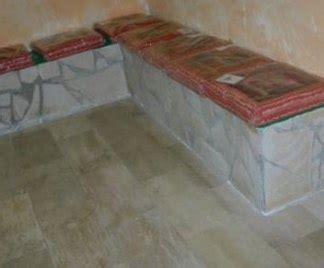 panchine in muratura divani in muratura
