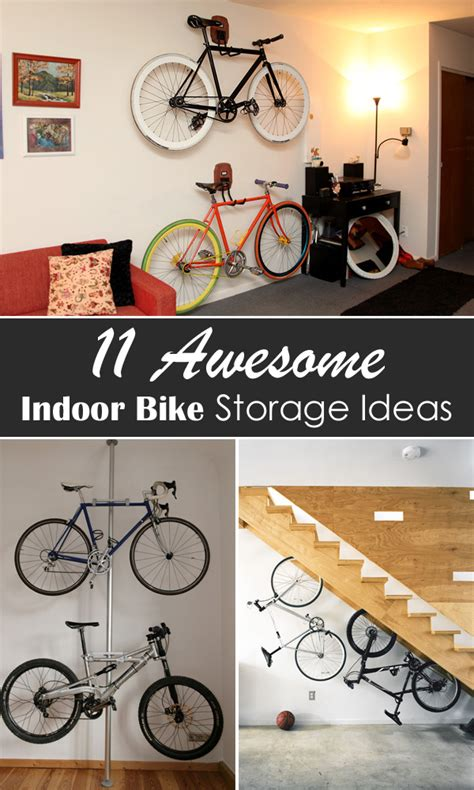 indoor bike storage ideas 11 awesome indoor bike storage ideas