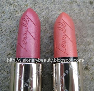 By Terry Rouge Terrybly Shimmer Lipstick I Gruppen Makeup Lppar | visionary beauty by terry rouge terrybly shimmer lipsticks