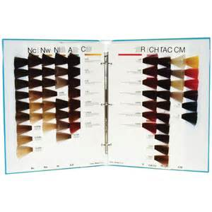 rusk hair color chart rusk deepshine color guide