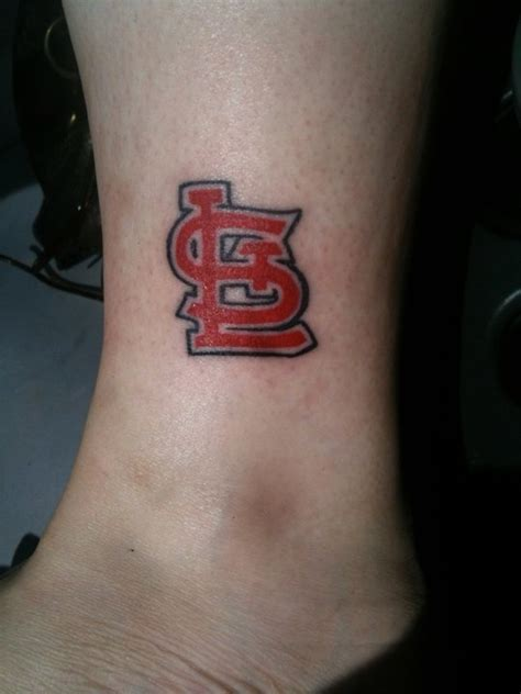 st louis cardinals tattoos 20 best st louis cardinals tattoos images on