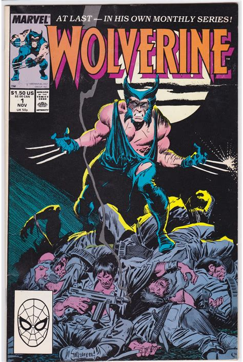 comic book with pictures quot i comic books quot the wolverine by buscema