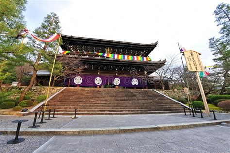 the chion a classic vintage chion in temple in japan stock image image of japan