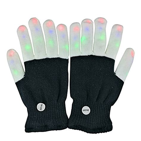 light gloves amazon led gloves finger lights toys with lights 3 colorful 6